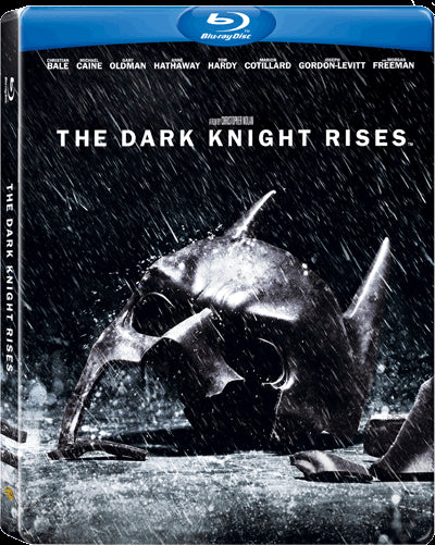 The Dark Knight Rises (2012) (Blu Ray) (2-Disc Special Steelbook Edition) (English Subtitled) (Hong Kong Version) - Neo Film Shop