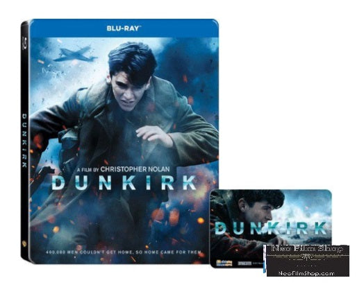 Dunkirk (2017) (Blu Ray) (Steelbook) (English Subtitled) (Hong Kong Version) - Neo Film Shop