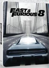 The Fate of the Furious 8 (2017) (Blu Ray) (Steelbook) (English Subtitled) (Hong Kong Version)