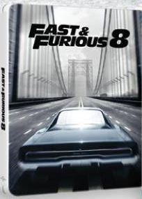 The Fate of the Furious 8 (2017) (Blu Ray) (Steelbook) (English Subtitled) (Hong Kong Version) - Neo Film Shop