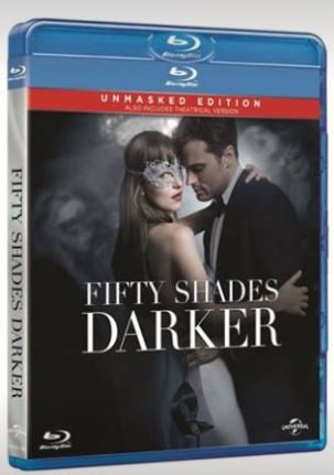 Fifty Shades Darker 格雷的五十道色戒 2 (2017) (Blu Ray) (Unmasked Edition) (English Subtitled) (Hong Kong Version) - Neo Film Shop