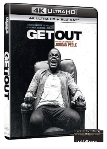Get Out (2017) (4K Ultra HD + Blu Ray) (English Subtitled) (Hong Kong Version) - Neo Film Shop