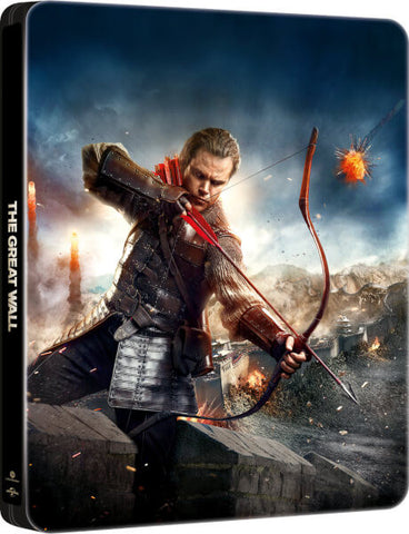 The Great Wall 長城 (2016) (Blu Ray) (Steelbook) (English Subtitled) (Hong Kong Version) - Neo Film Shop