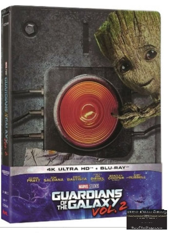 Guardians of the Galaxy Vol. 2 (2017) (4K Ultra HD + Blu-ray) (Steelbook) (English Subtitled) (Hong Kong Version) - Neo Film Shop