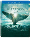 In the Heart of the Sea (2015) (Blu Ray) (2D+3D) (Steelbook) (English Subtitled) (Hong Kong Version) - Neo Film Shop