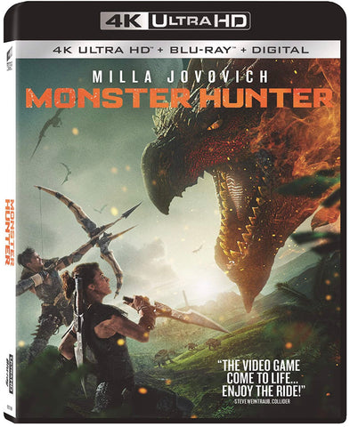 Monster Hunter (2020) (4K Ultra HD + Blu-ray + Digital) (English Subtitled) (US Version)