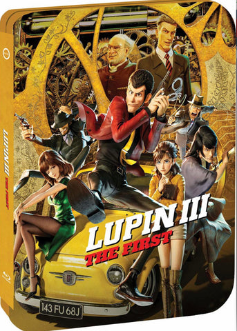Lupin III: The First (ルパン三世) (Limited Edition Steelbook) (2019) (Blu Ray + DVD) (English Subtitled) (US Version)