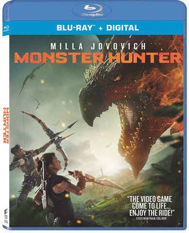 Monster Hunter (2020) (Blu Ray + Digital) (English Subtitled) (US Version)