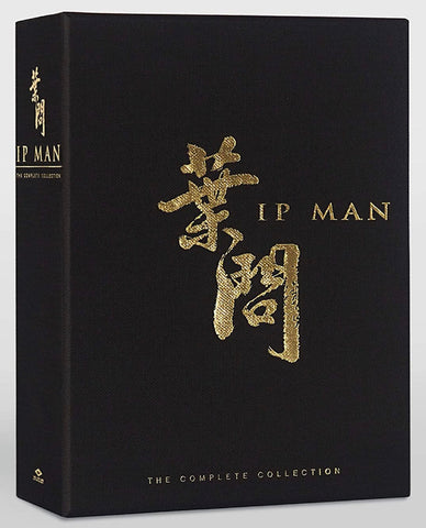 Ip Man 1-4: The Complete Collection 葉問 1-4 (8 Discs) (4K Ultra HD + Blu Ray) (English Subtitled) (US Version)