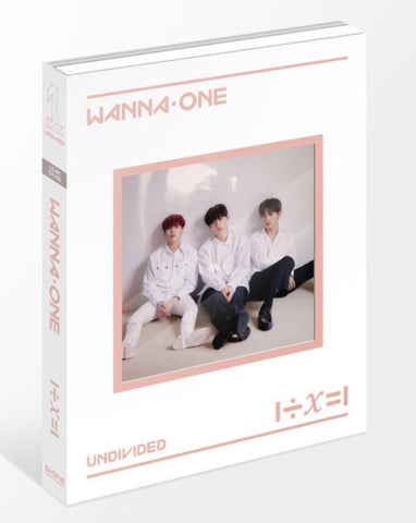 WANNA ONE Special Album - 1÷X=1 (UNDIVIDED) (Lean On Me) (CD) (Korea Version)
