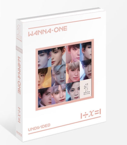 WANNA ONE Special Album - 1÷X=1 (UNDIVIDED) (Art Book) (CD) (Korea Version)