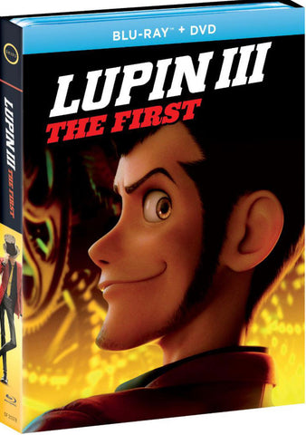 Lupin III: The First (ルパン三世) (2019) (Blu Ray + DVD) (English Subtitled) (US Version)