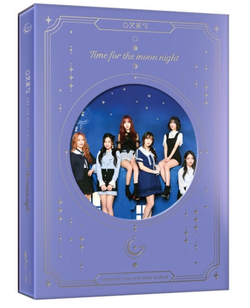 GFRIEND Mini Album Vol. 6 - Time for the Moon Night (Time) (CD) (Korea Version) - Neo Film Shop