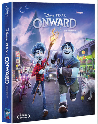 Onward (2020) (Blu Ray) (Steelbook) (Korea Version)