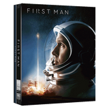 First Man (2018) (4K Ultra HD + Blu Ray)(Steelbook) (Taiwan Version)