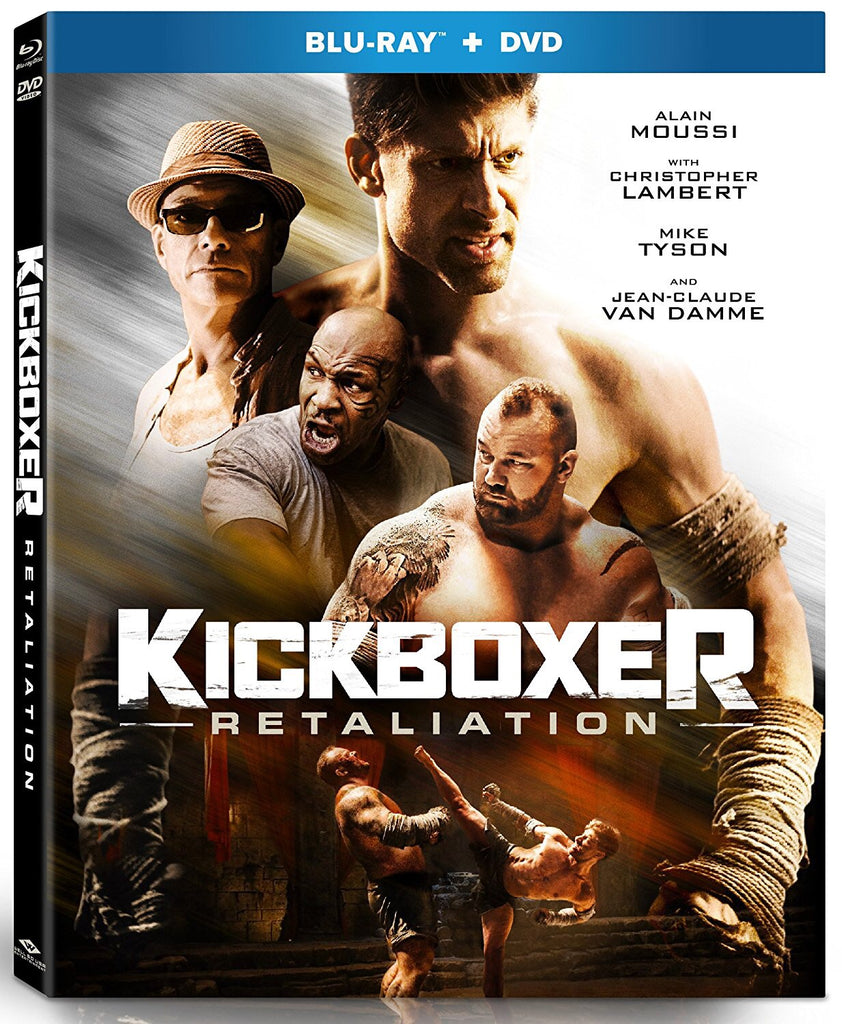 Kickboxer: Retaliation (2018) (Blu Ray + DVD) (English Subtitled) (US Version)