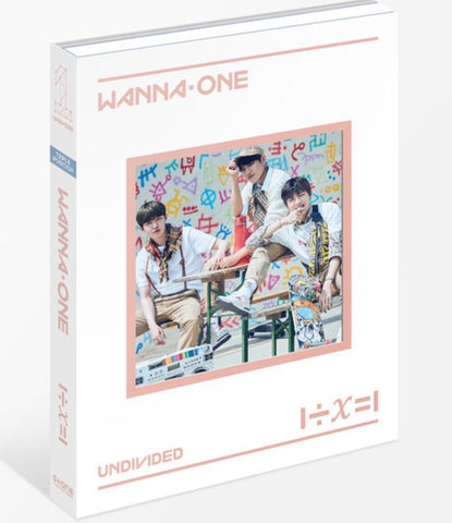 WANNA ONE Special Album - 1÷X=1 (UNDIVIDED) (Triple Position) (CD) (Korea Version)