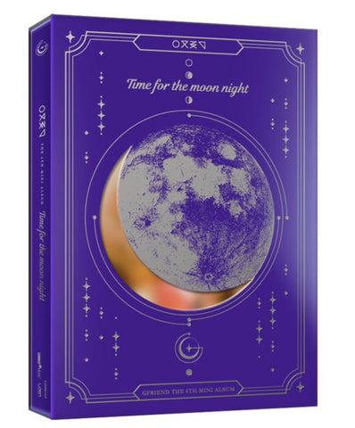 GFRIEND Mini Album Vol. 6 - Time for the Moon Night (Night) (CD) (Korea Version) - Neo Film Shop
