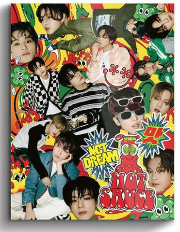 NCT DREAM Vol. 1 - Hot Sauce (Photo Book Version) (Boring Version) (Korea Version)