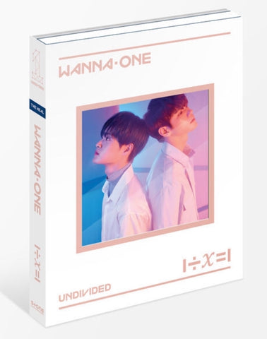 WANNA ONE Special Album - 1÷X=1 (UNDIVIDED) (The Heal) (CD) (Korea Version) - Neo Film Shop