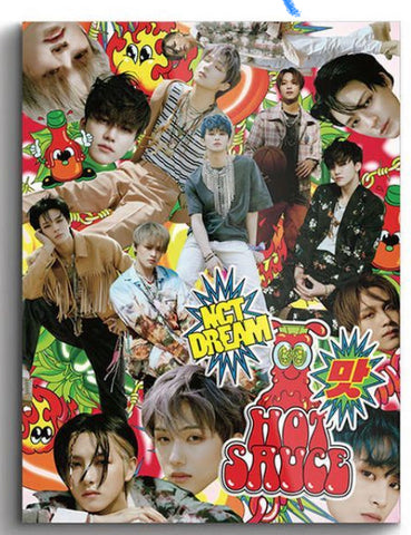 NCT DREAM Vol. 1 - Hot Sauce (Photo Book Version) (Chilling Version) (Korea Version)