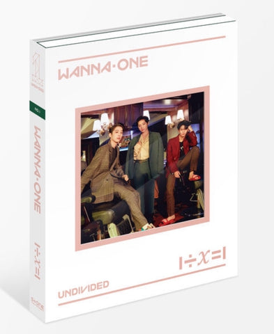 WANNA ONE Special Album - 1÷X=1 (UNDIVIDED) (No.1) (CD) (Korea Version)