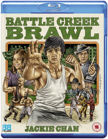 Battle Creek Brawl (The Big Brawl) 殺手壕 (1980) (Blu Ray) (Digitally Remastered) English Subtitled) (88Films Edition)