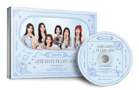 Favorite Mini Album Vol. 2 - Love Loves to Love Love (CD) (Korea Version) - Neo Film Shop