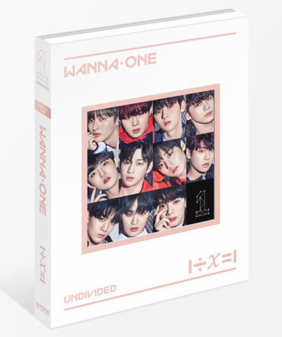 WANNA ONE Special Album - 1÷X=1 (UNDIVIDED) (Wanna One) (CD) (Korea Version)