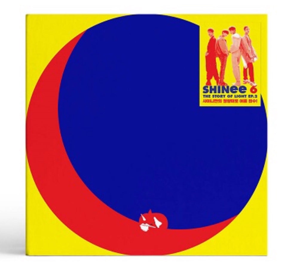 SHINee Vol. 6 - The Story of Light EP.2 (CD) (Korea Version) - Neo Film Shop