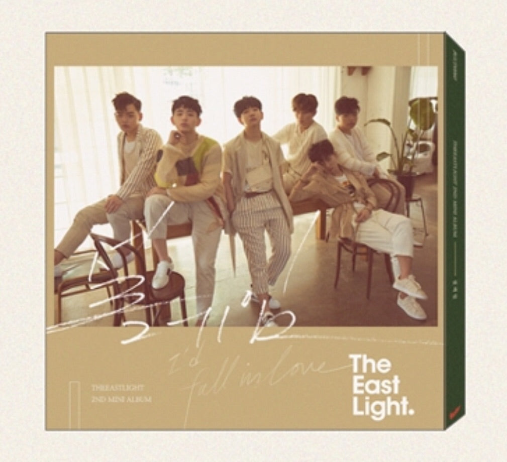 TheEastLight. Mini Album Vol. 2 (CD) (Korea Version)