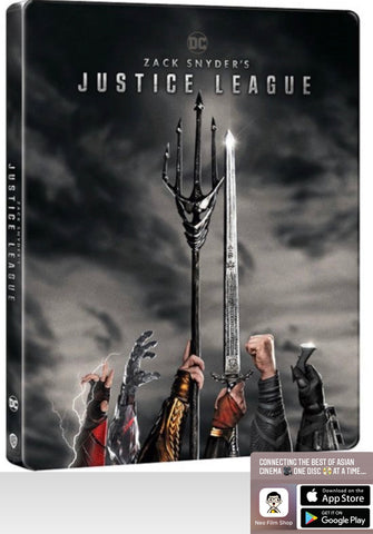 Zack Snyder's Justice League 薩克薛達之正義聯盟 (2021) (4K Ultra HD + Blu-ray) (4 Disc) (Steelbook) (English Subtitled) (Hong Kong Version)