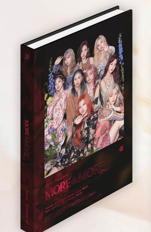 Twice Mini Album Vol. 9 - MORE & MORE (A Version) (CD) (Korea Version)