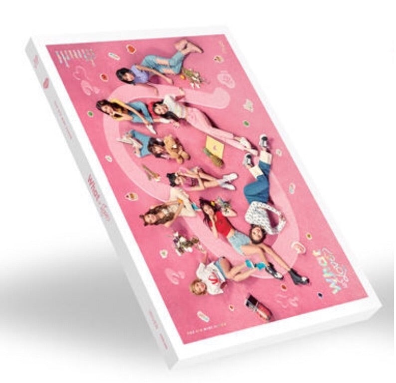 TWICE Mini Album Vol. 5 - WHAT IS LOVE? (A) (CD) (Korea Version)