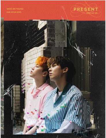 Woo Jin Young, Kim Hyun Soo Special Mini Album - PRESENT (CD) (Korea Version) - Neo Film Shop