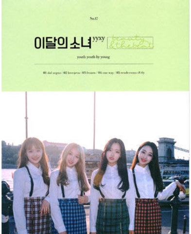 yyxy Mini Album - beauty&thebeat (Limited Edition) (CD) (Korea Version)