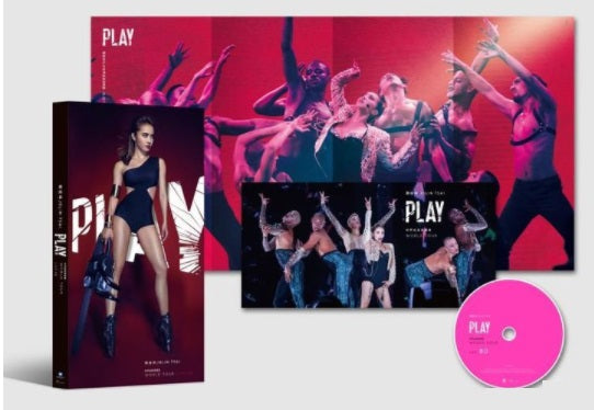 Jolin Tsai Play World Tour Live 蔡依林Play世界巡迴演唱會 LIVE (2018) (Blu Ray) (Taiwan Version) - Neo Film Shop