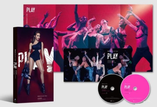 Jolin Tsai Play World Tour Live 蔡依林Play世界巡迴演唱會 LIVE (2018) (2 DVD) (Taiwan Version)