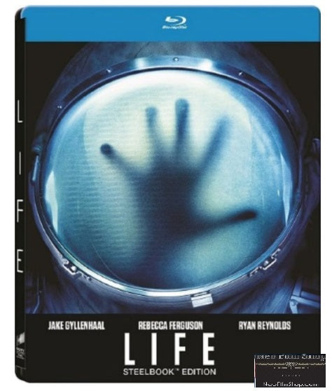 Life 外星生命 (2017) (Blu Ray) (Steelbook) (English Subtitled) (Hong Kong Version)
