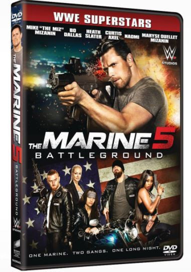 The Marine 5: Battleground 怒火反擊5: 戰場 (2017) (DVD) (English Subtitled) (Hong Kong Version)
