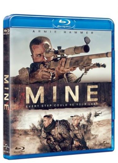 Mine 雷霆孤軍 (2016) (Blu Ray) (English Subtitled) (Hong Kong Version)