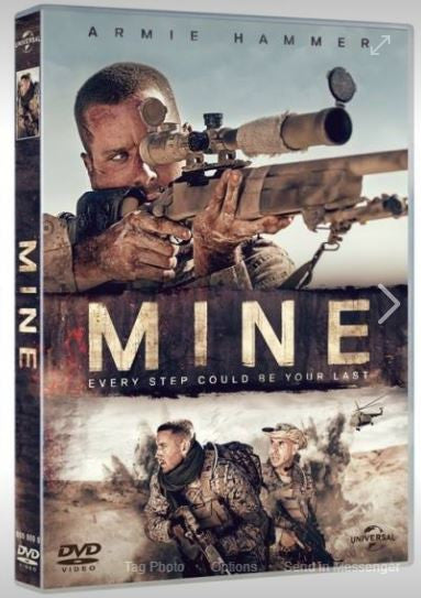 Mine 雷霆孤軍 (2016) (DVD) (English Subtitled) (Hong Kong Version) - Neo Film Shop