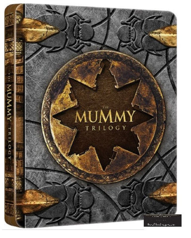 The Mummy Trilogy 盜墓迷城 1-3 集 (1999-2008) (Blu Ray) (Steelbook) (English Subtitled) (Hong Kong Version) - Neo Film Shop