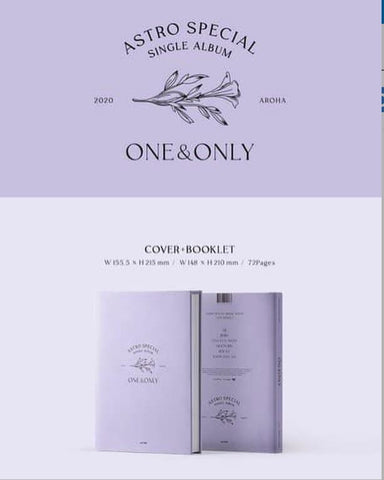 Astro Special Single Album - ONE&ONLY (First Press Limited Edition) (2020) (CD) (Korea Version) - Neo Film Shop