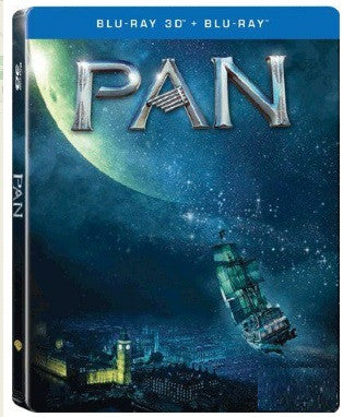 Pan 小飛俠: 魔幻始源 (2015) (Blu Ray) (Steelbook) (2D + 3D) (English Subtitled) (Hong Kong Version) - Neo Film Shop