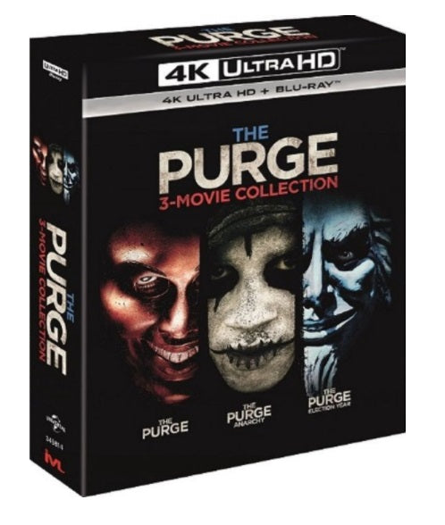 The Purge: 3-Movie Collection (4K Ultra HD + Blu Ray) (English Subtitled) (Hong Kong Version) - Neo Film Shop