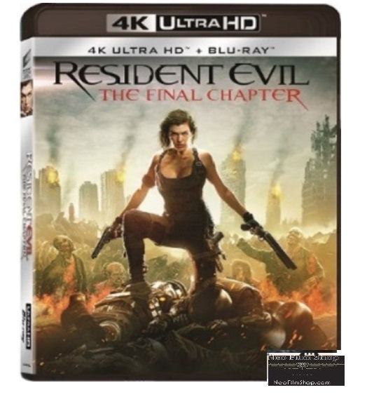Resident Evil: The Final Chapter (2016) (4K Ultra HD + Blu Ray)  (English Subtitled) (Hong Kong Version)