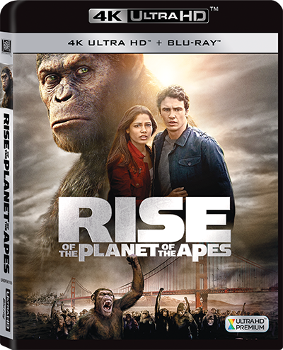 Rise Of The Planet Of The Apes 猿人爭霸戰: 猩凶革命 (2011) (4K Ultra HD + Blu-ray) (English Subtitled) (Hong Kong Version) - Neo Film Shop