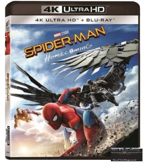 Spider-Man: Homecoming (2017) (4K Ultra HD + Blu Ray) (English Subtitled) (Hong Kong Version) - Neo Film Shop