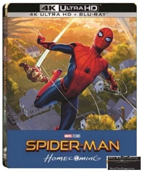 Spider-Man: Homecoming (2017) (4K Ultra HD + Blu Ray) (Steelbook) (English Subtitled) (Hong Kong Version) - Neo Film Shop